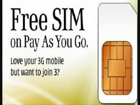 3 UK Sim Card Changing Mobile Forever