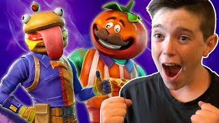 EPIC FOOD FIGHT CHALLENGE!! with Dad