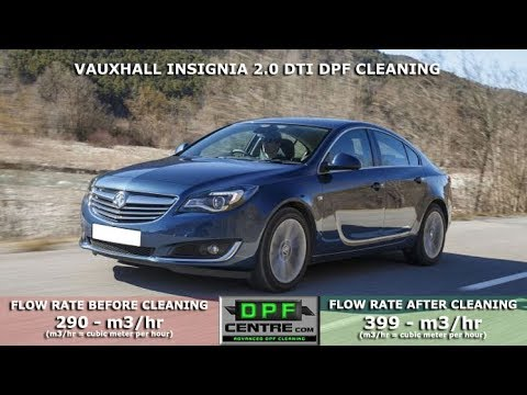 Vauxhall Insignia 2.0 DTI DPF Cleaning