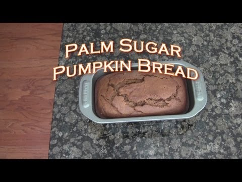 Sugar Free Pumpkin Bread