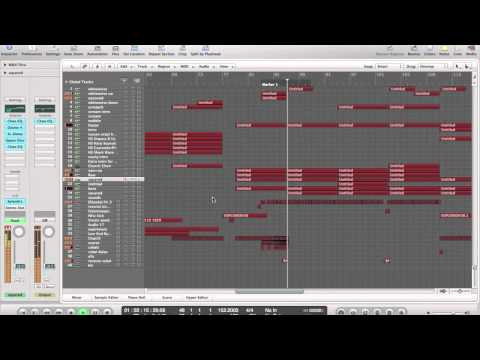 Hardstyle track in Logic pro 9 (Randal-The immortal warrior)