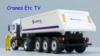 Conrad MAN TGS   Schmitz Tipper 'Eurovia' by Cranes Etc TV