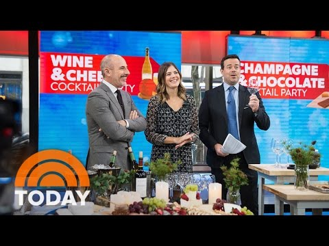 Easy Ideas For Holiday Cocktail Parties: Champagne Shots, Cheese Boards, More | TODAY