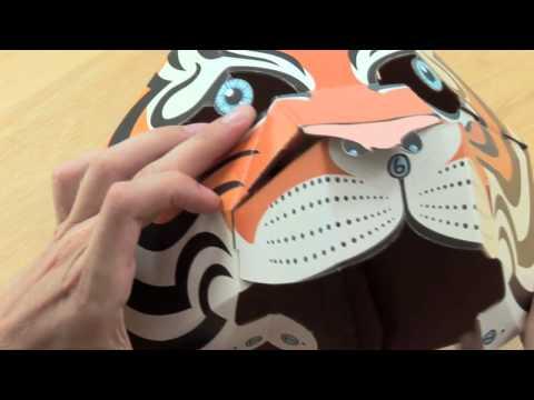 Partly Animal Tiger/Jaguar Instructions