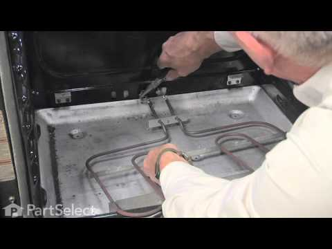 Range/Stove/Oven Repair - Replacing the Bake Element - 3600W (Whirlpool Part # W10276482)