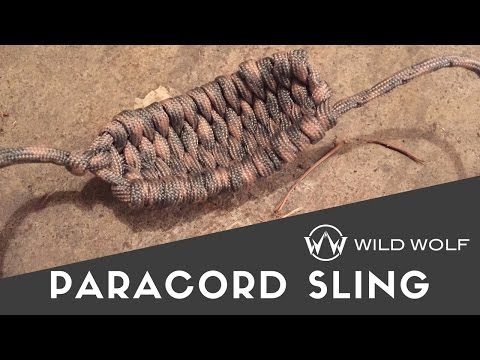 Paracord Sling - Easy to Make - Good for Small Game and Rocks