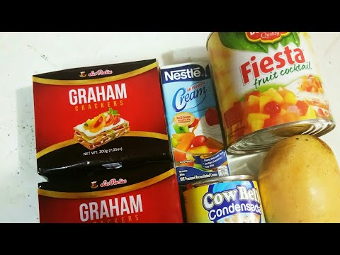 How to make simple Mango Graham Cake