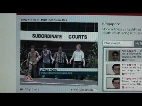 Silviu Ionescu 3rd Coroners Inquest In Singapore