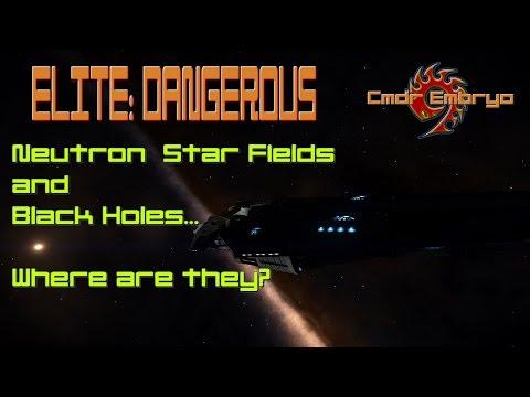 Finding Neutron Star Fields and Black Holes - Speeding Up Elite Explorer Rank [Elite: Dangerous]