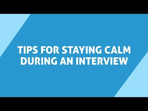 5 Tips for Staying Calm during a Job Interview | Aasaanjobs