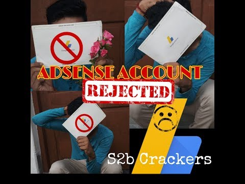 Adsense Account Rejected Vine Video || Disable Adsense Account ||What happend when Adsense Disable |