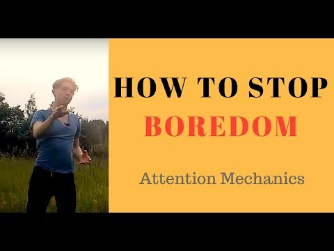 How to Stop Boredom, How to stop being bored all the time