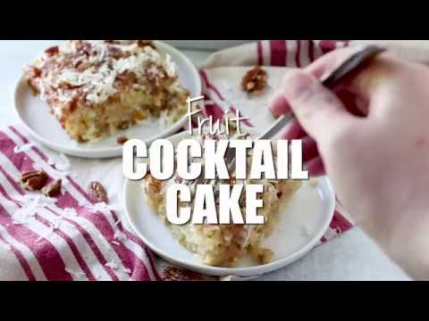 How to make: Fruit Cocktail Cake