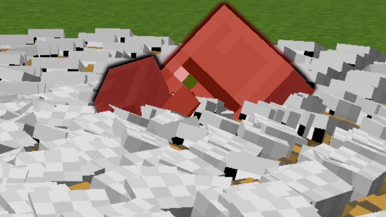So I made every mob aggressive in Minecraft...