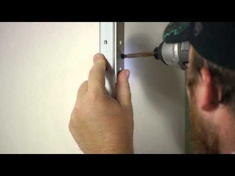 How to Install Drywall Outside Corners : Wall Repair