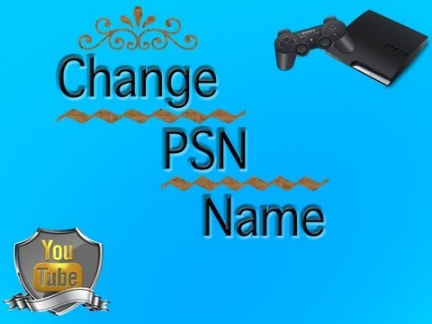 Change Your PSN Name For Free!