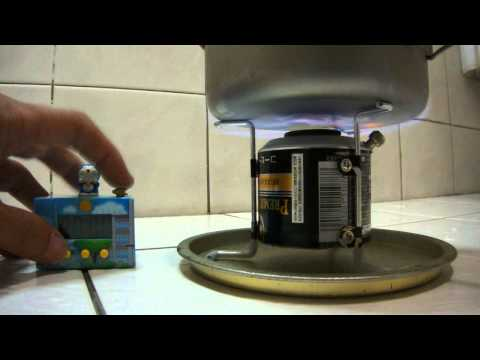 DIY - Chimney-Jet Alcohol Stove, made by UCC can - II