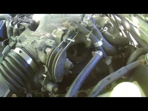 02 xterra intake manifold  removal part 1