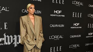'I wanted to take the power back': Lady Gaga on her oversized suit