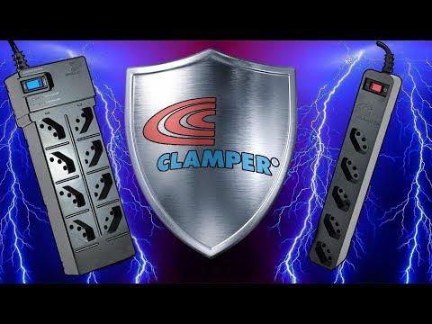 Filtro de Linha Clamper - Unboxing e Review   Proteção p/ Eletrônicos!