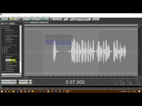 How To Mix Vocals in Adobe Audition 1.5 2017 METHOD