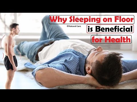 Sleeping on Floor or on Hard Bed is Most Beneficial for our Back