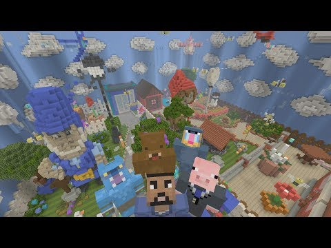 Minecraft XBOX - Hide and Seek - Gnomeo & Juliet