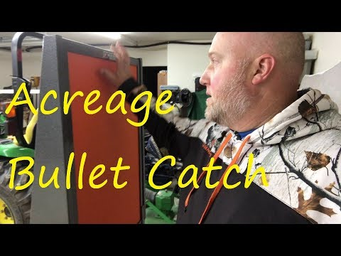 Acreage Bullet Catch Assembly and Mobile Mount