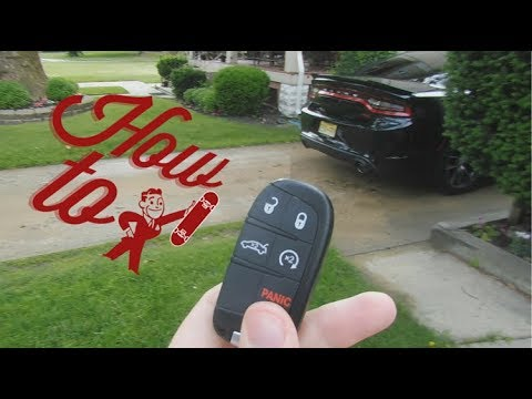 How to change out a Dodge Charger Key Fob Battery Replacement