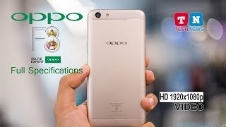 OPPO F3 SELFIE EXPERT FULL SPECIFICATIONS| HD VIDEO | NEW PHONES 2017 | BANGLADESH