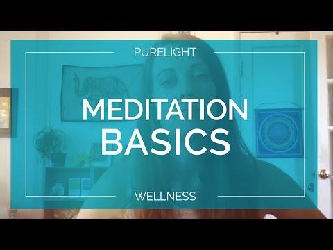 Meditation Basics and an Easy Beginner Meditation