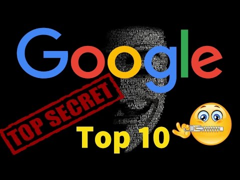 Top 10 Amazing Google Secrets Search