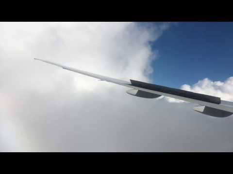 Turbulence Air New Zealand NZ6 Auckland To Los Angeles January 26th 2017