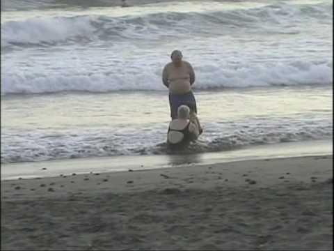 Josh en la playa
