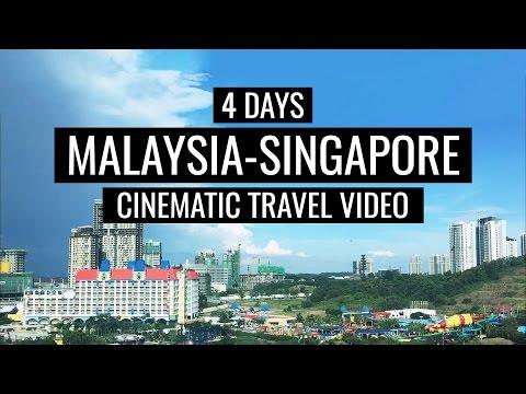 Malaysia & Singapore   iPhone Cinematic Travel Video