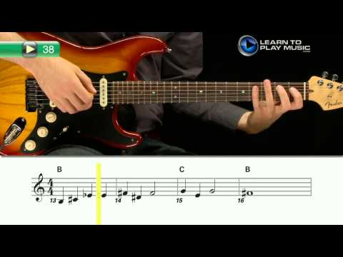Ex038~1 How to Play Guitar - Guitar Lessons for Beginners Book 1