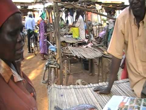 Selling fish at Siaya Municipal Market in Siaya County, KENYA
