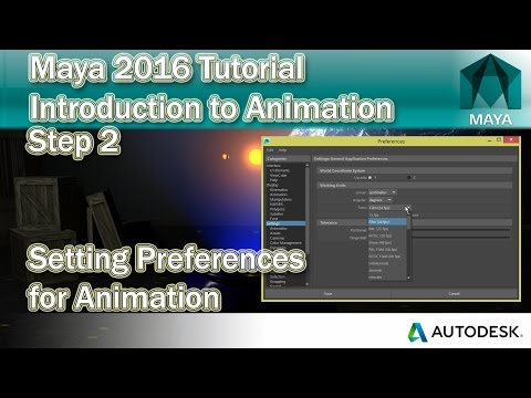 #2 Setting Maya Preferences for Animation | Maya Animation Tutorial