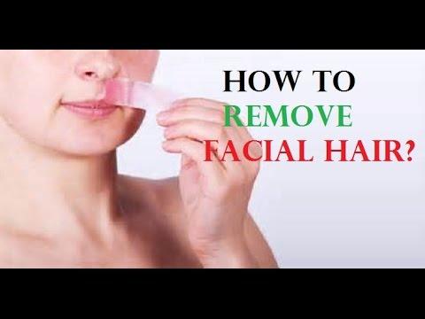 How to Remove Facial Hair | Facial Hair Removal