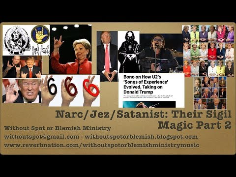 Part 2: Satanic Signs, Symbols, Sigil Magic in Music/Politics &