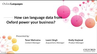 How can language data from Oxford power your business?