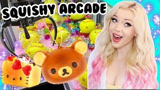 Download SQUISHY ARCADE DAY CLAW MACHINE WINS AT NEOFUNS! Video