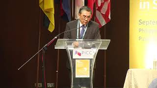 Ambassador Ong Keng Yong speaks at ASEAN conference on peace and violent extremism