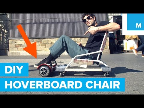 Building a DIY Hoverboard Chair for Under $50 | Rideable