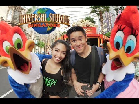 Come With Us (Universal Studios Singapore) | Eden Ang