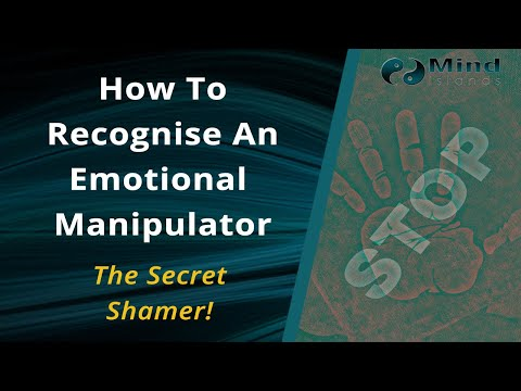 How to recognise an emotional manipulator