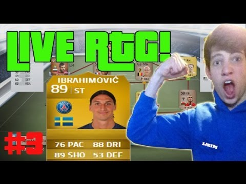 ZLATAN IBRAHIMOVIC Ultimate Team LIVE Fifa 14 Road to Glory! #3 NEW PLAYERS + EA AIDS