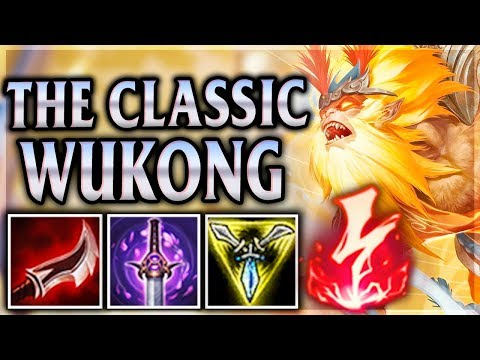 WUJU STYLE MONKEY KING NEW YEARS ONE-SHOTS! - Radiant Wukong Jungle - League of Legends Commentary