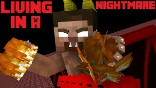 LIVING IN A NIGHTMARE (Short/Meme) - Minecraft Animation