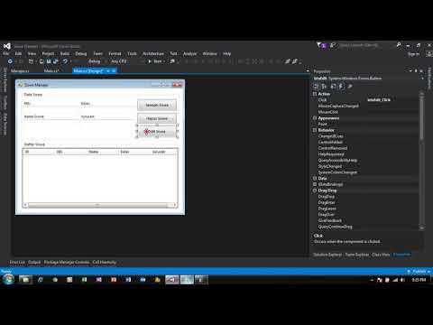 [Part 6] C# SQLite CRUD OOP Tutorial - Update Data